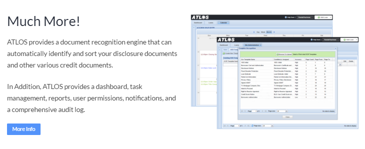 Loan software monitoring bank document management for Loan documentation software